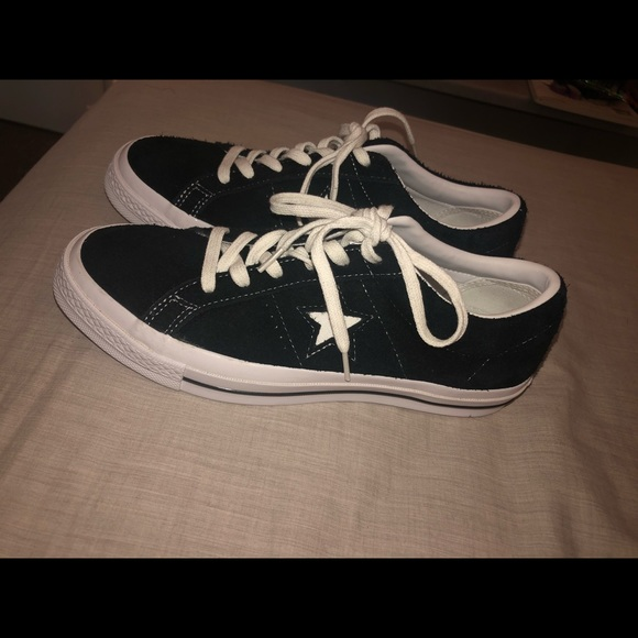 Converse Other - Converse One Star Vintage Suede Shoes